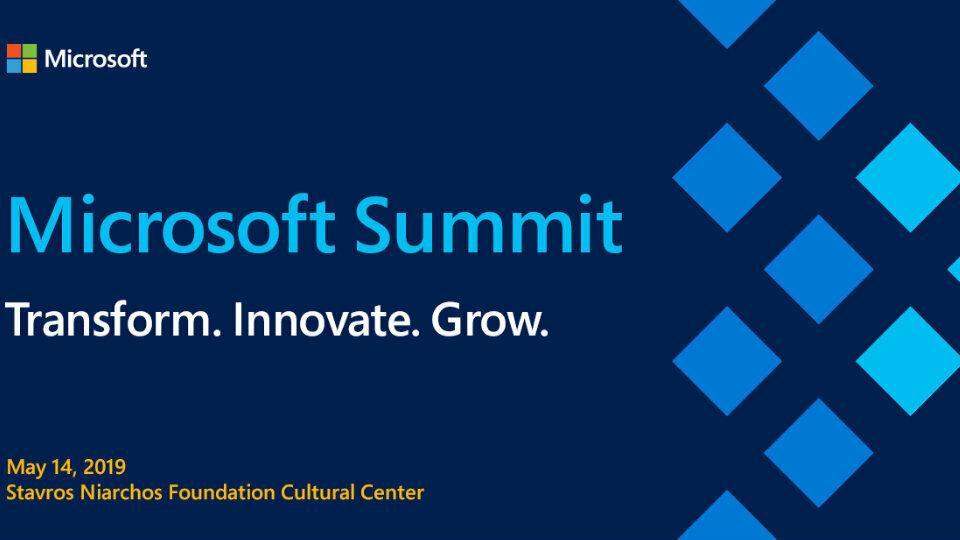 Η Τεχνητή Νοημοσύνη στην καρδιά του 4ου Microsoft Summit