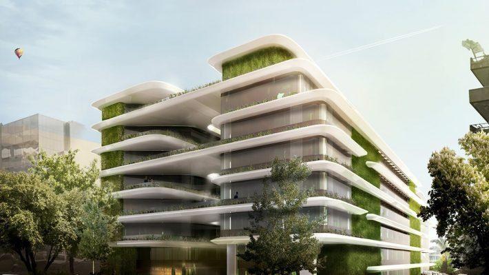 Taxi Beat: Το νέο της φουτουριστικό σπίτι είναι το πιο πράσινο κτήριο στην Αθήνα